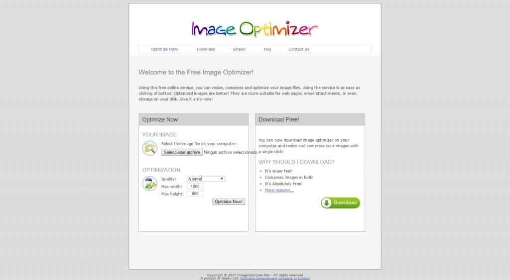 optimizar imagenes para wordpress