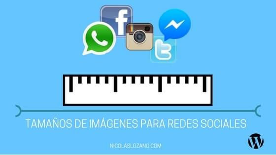 tamaños de imágenes para redes sociales