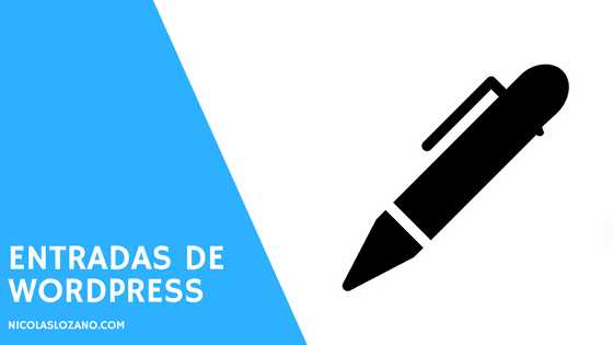 entradas de wordpress